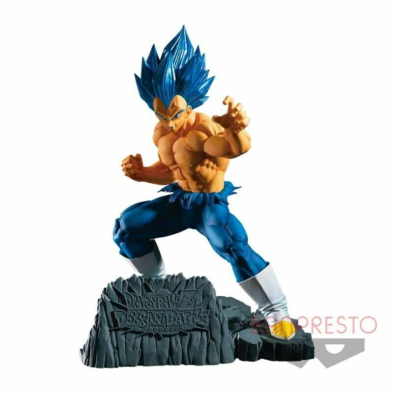 Dragon Ball Z Dokkan Battle 6th Anniversary Figure Super Saiyan Blue Vegeta
