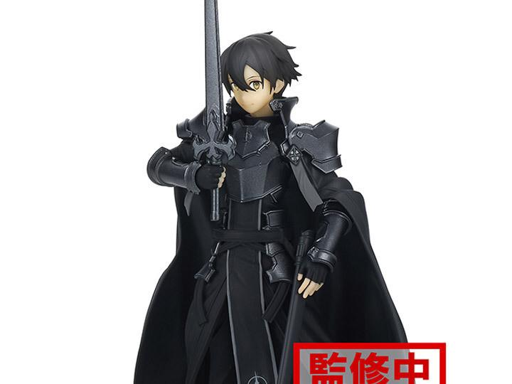 Pre-Order: Sword Art Online: Alicization Rising Steel Integrity Knight Kirito Figure