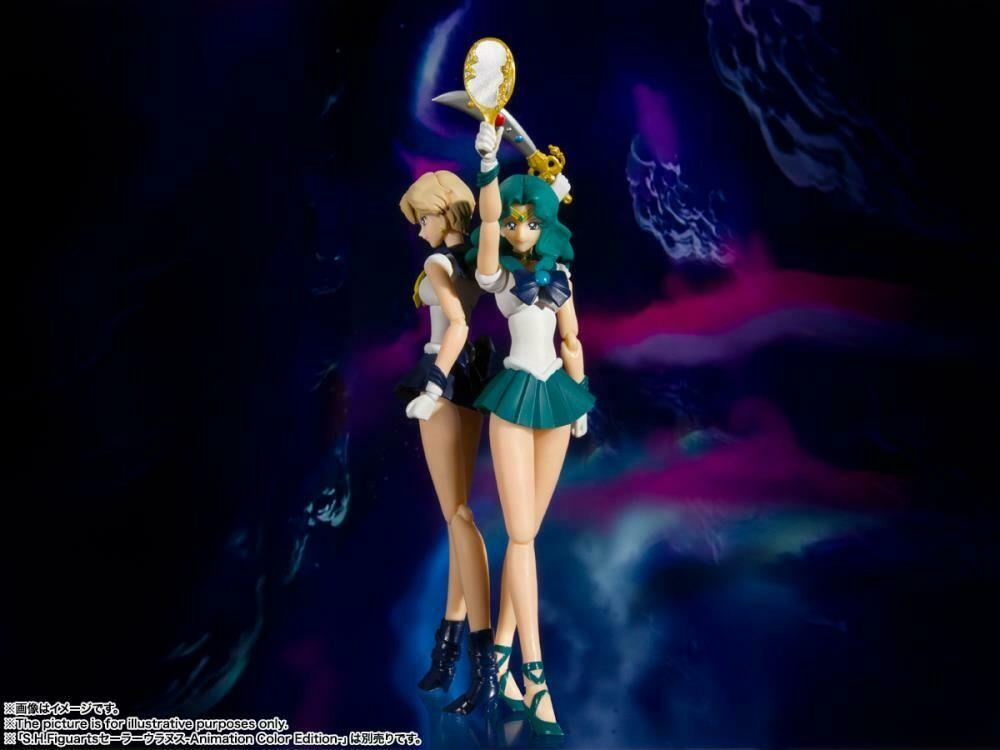 Sailor Moon S.H.Figuarts Sailor Neptune / Sailor Uranus ( (Animation Color Edition)