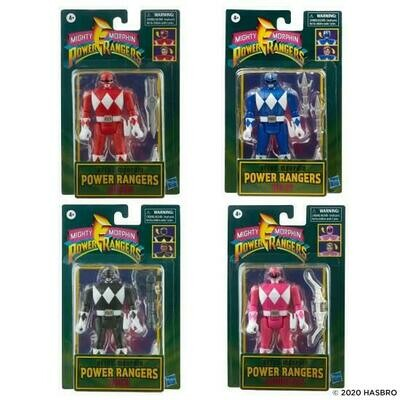 Mighty Morphin Power Rangers- Retro-Morphin Figure