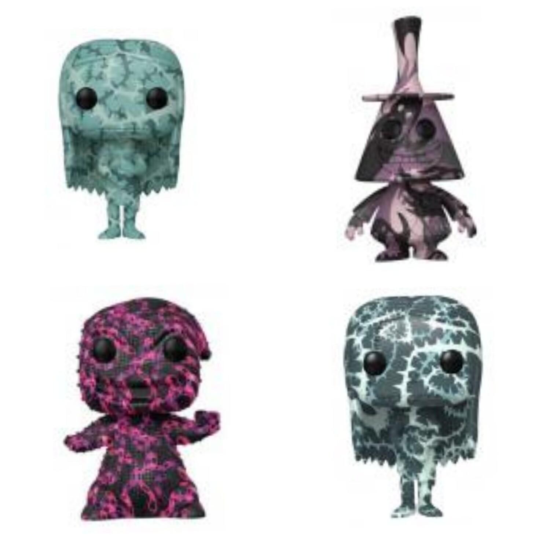 Pre-Order: The Nightmare Before Christmas (Artist Series) Pop! Vinyl Figure with Protector