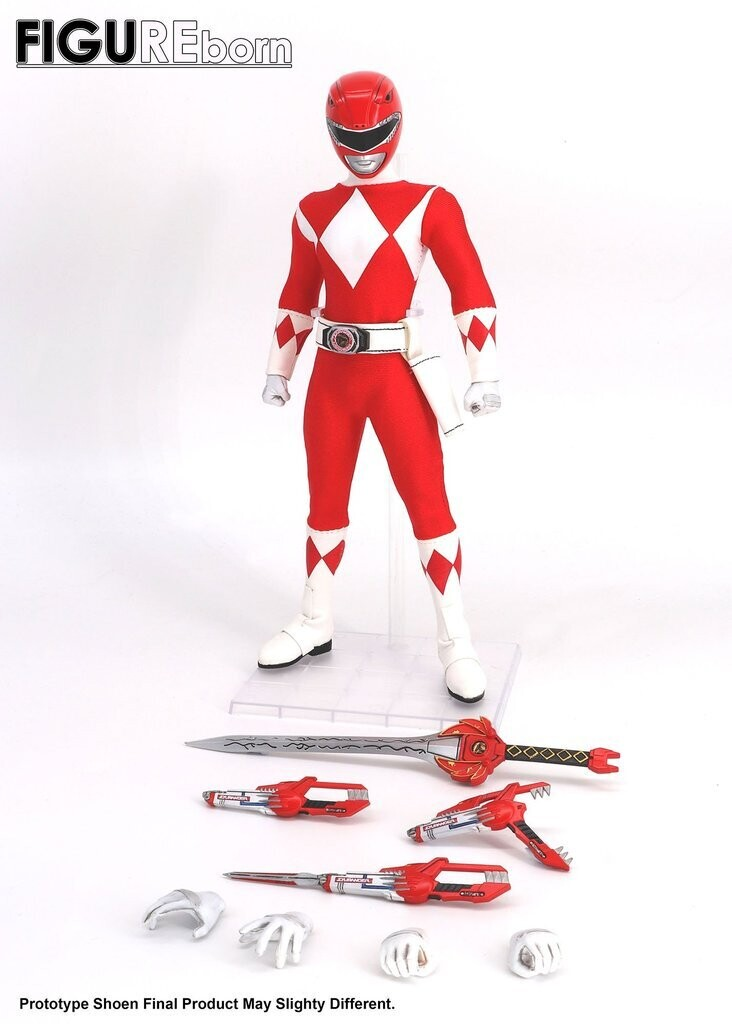 Pre-Order: Figureborn Power Rangers Figure