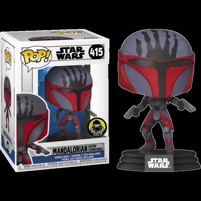 Star wars- Mandalorian Super Commando Pop! Vinyl Figure