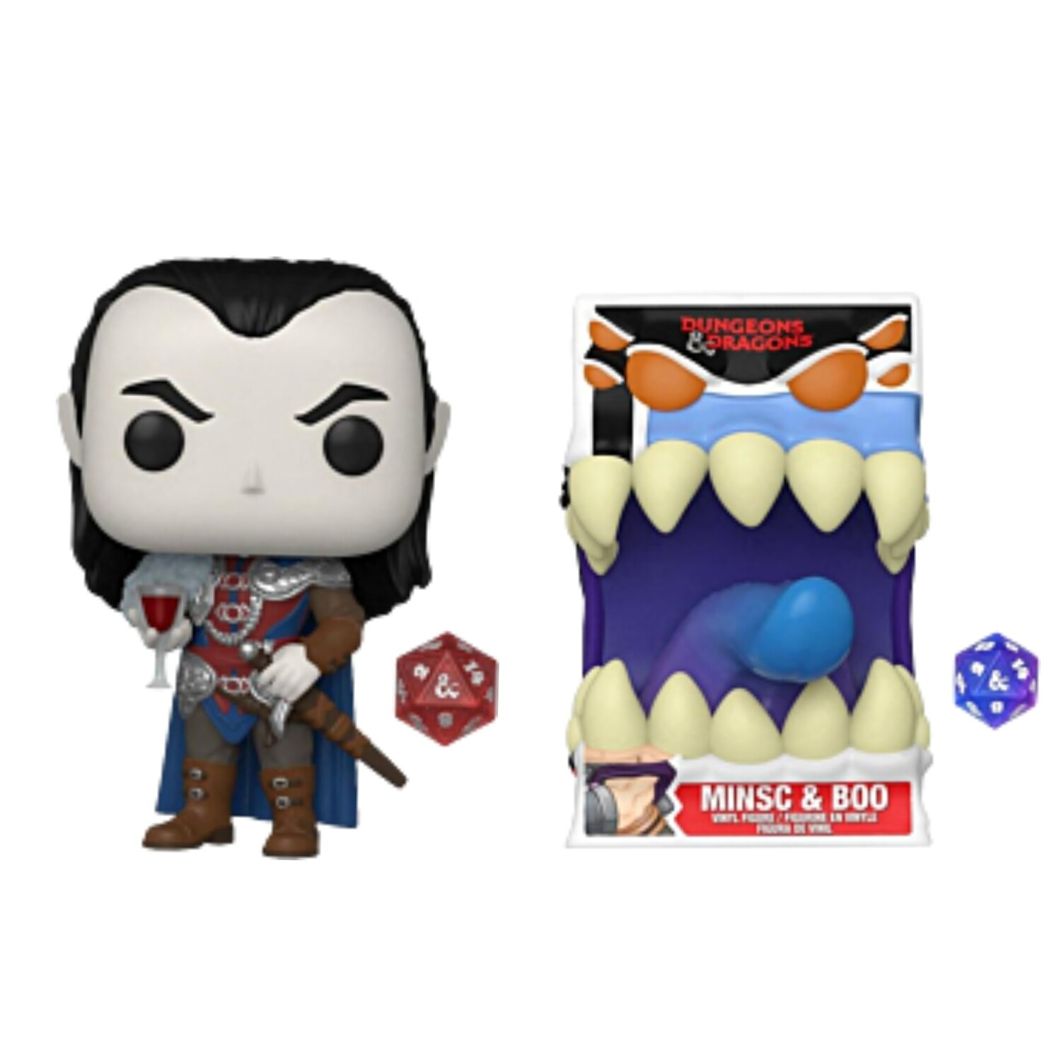 Pre-Order: Dungeons & Dragons - Strahd Pop! Vinyl Figure with Dice