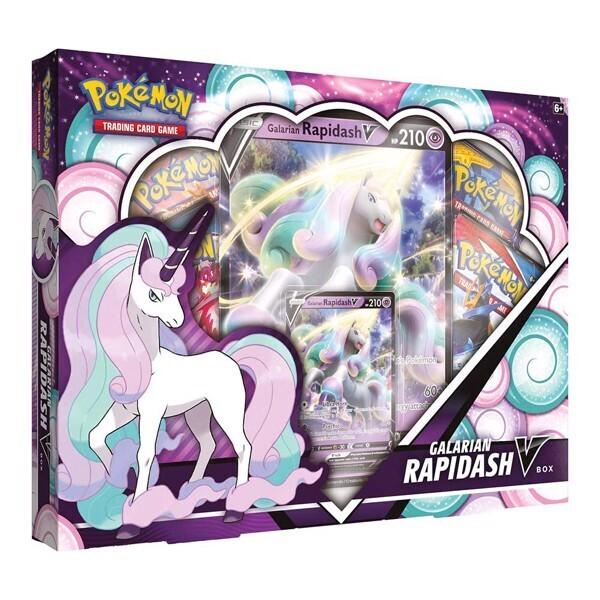 Pokemon - TCG - Galarian Rapidash V Box