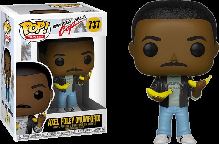 Beverly Hills Cop - Axel Foley with Bananas Pop! Vinyl Figure
