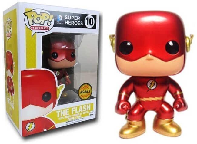 The Flash - The Flash Chase Pop! Vinyl Figure Bundle (Set of 2)
