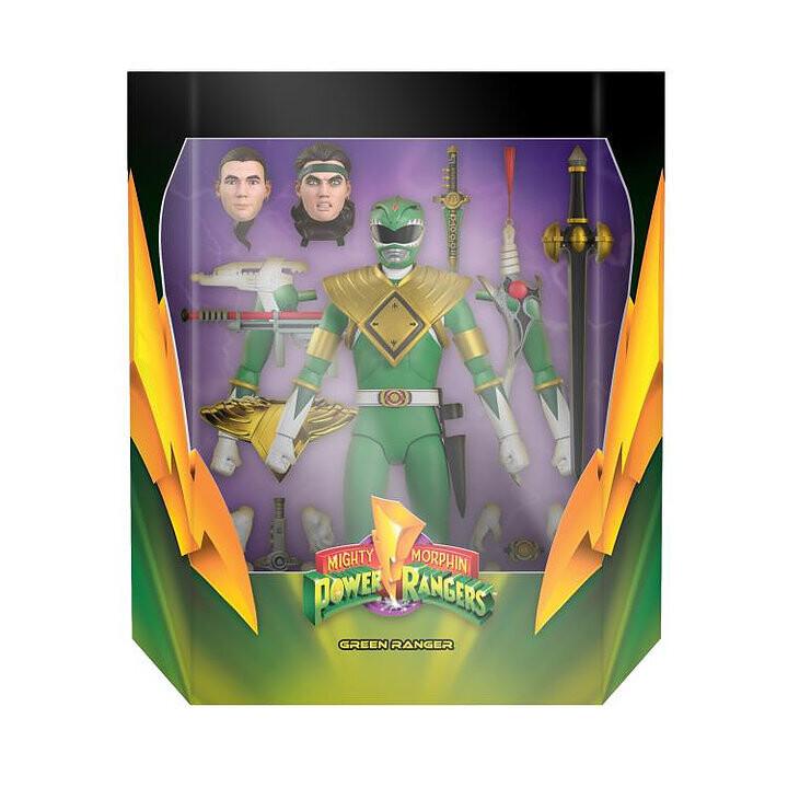 Pre-Order: Power Rangers Ultimates Mighty Morphin Green Ranger Figure