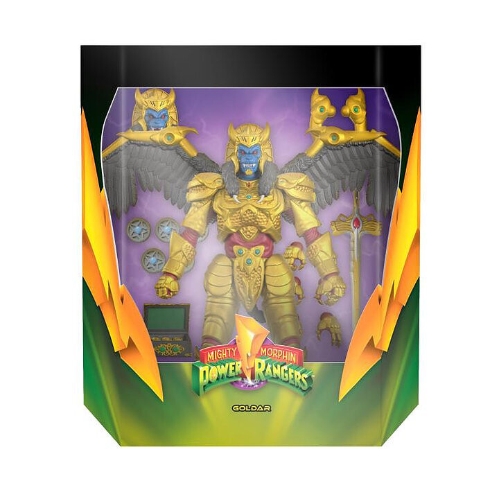 Pre-Order: Power Rangers Ultimates Goldar 7-Inch Scale Action Figure