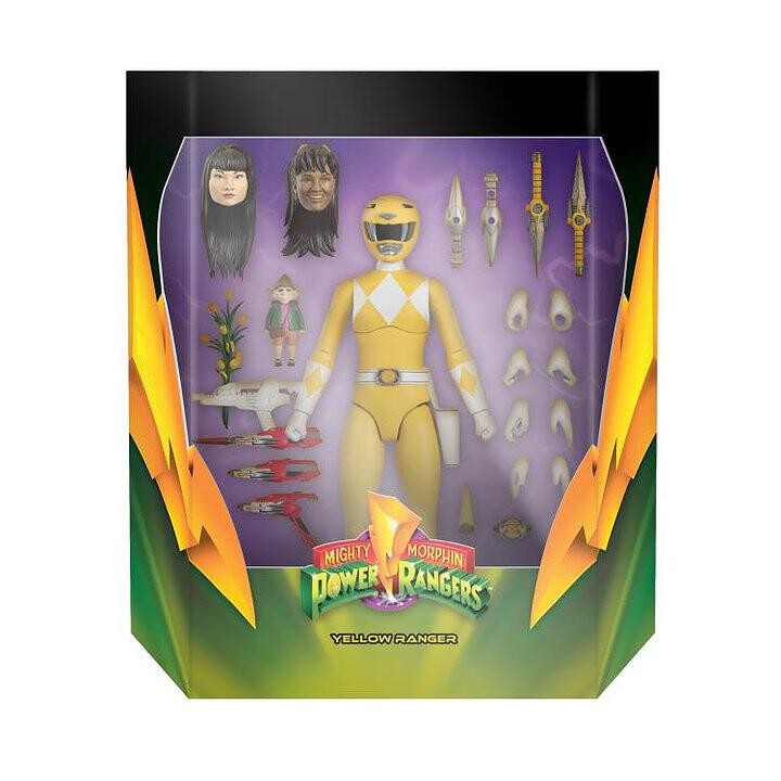 Pre-Order: Power Rangers Ultimates Mighty Morphin Yellow Ranger Figure
