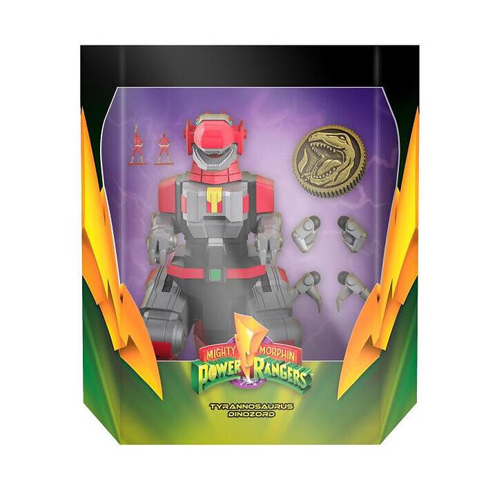 Pre-Order: Power Rangers Ultimates T-Rex Dinozord 7-Inch Action Figure
