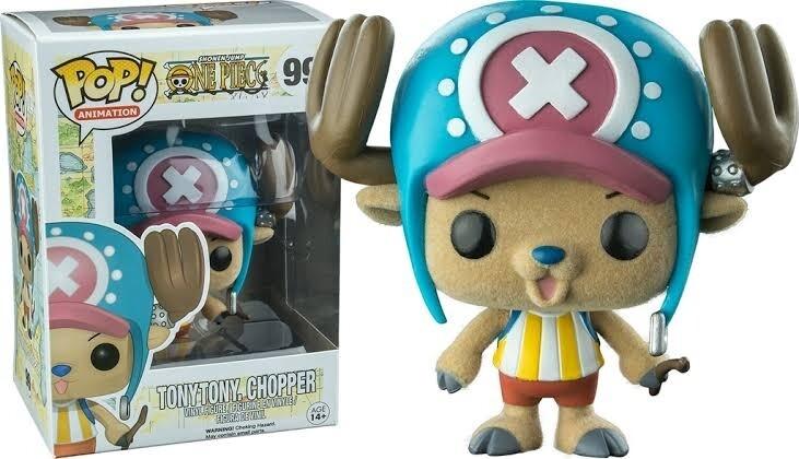 Pre-order: One Piece - Flocked Chopper Pop! Vinyl Figure