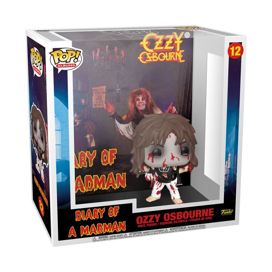 Pre-Order: Ozzy Osbourne - Diary of a Madman Pop! Album Vinyl Figure