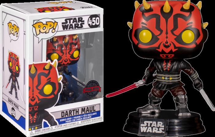 Star Wars: Clone Wars - Darth Maul with Darksaber Pop! Vinyl Figure