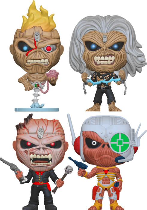 Pre-Order: Iron Maiden - Eddie, What Have You Popped For Me Lately? Pop! Vinyl Figure