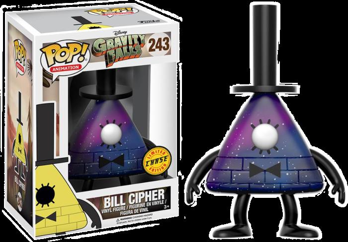 Gravity Falls Chase- Bill Cipher Pop! Vinyl Figure