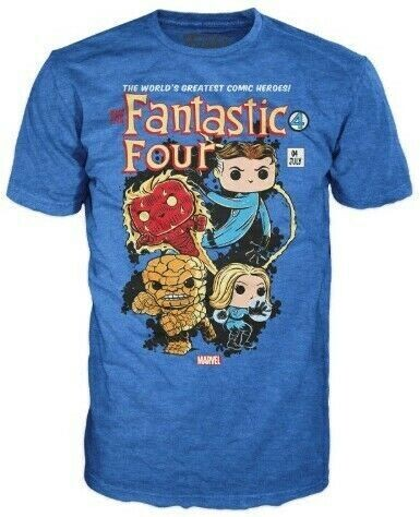 Funko Pop! T-Shirt Marvel Fantastic Four Tees