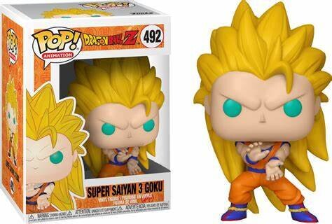 Dragon Ball Z - Goku Super Saiyan 3 Pop! Vinyl Figure