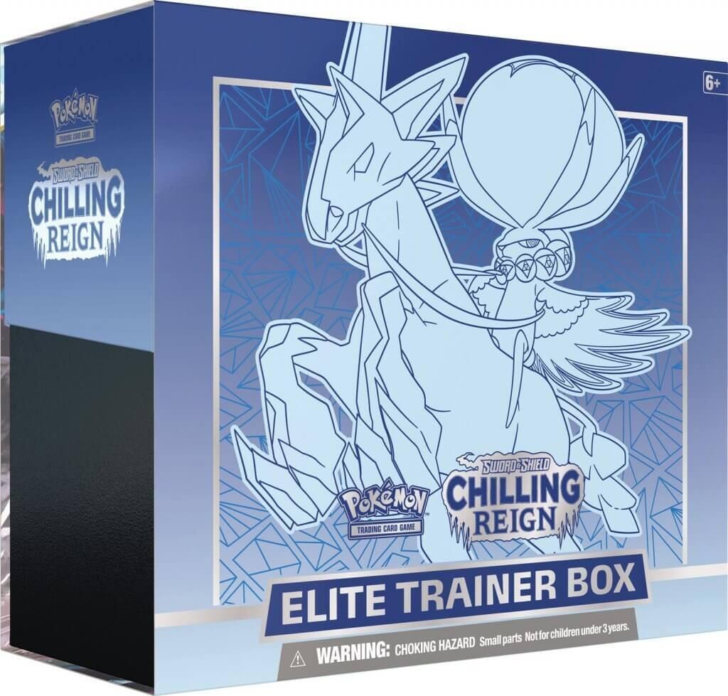 POKÉMON TCG Sword and Shield - Chilling Reign Elite Trainer Box