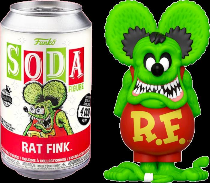 Rat Fink - Rat Fink Vinyl SODA Figure in Collector Can (International Edition)