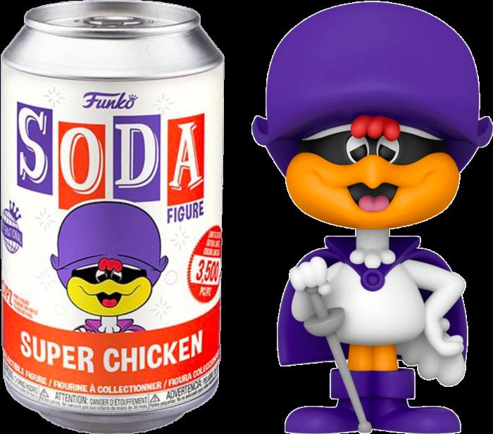 Super Chicken - Super Chicken Vinyl SODA Figure in Collector Can (International Edition)