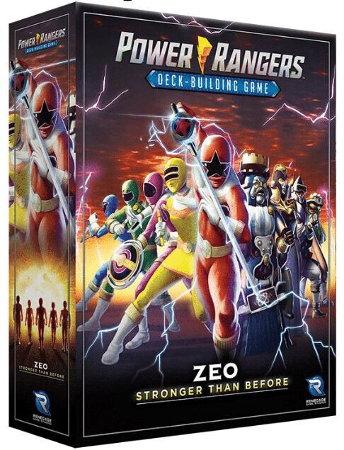 Pre-Order: Power Rangers Deck Building Game - Zeo Stronger Than Before