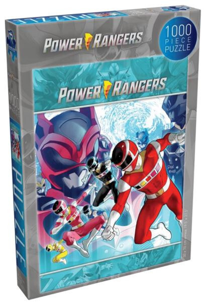 Pre-Order: Renegade Games Puzzle Power Rangers - Rise of the Psycho Rangers 1000 pieces