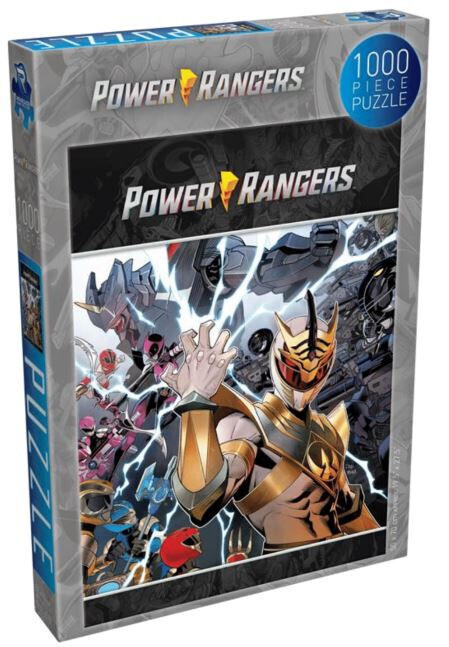 Pre-Order: Renegade Games Puzzle Power Rangers - Shattered Grid 1000 pieces