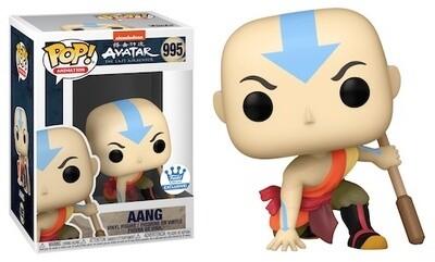 Avatar: The Last Airbender - Aang Crouching Pop! Vinyl Figure- Funko Shop Exclusive