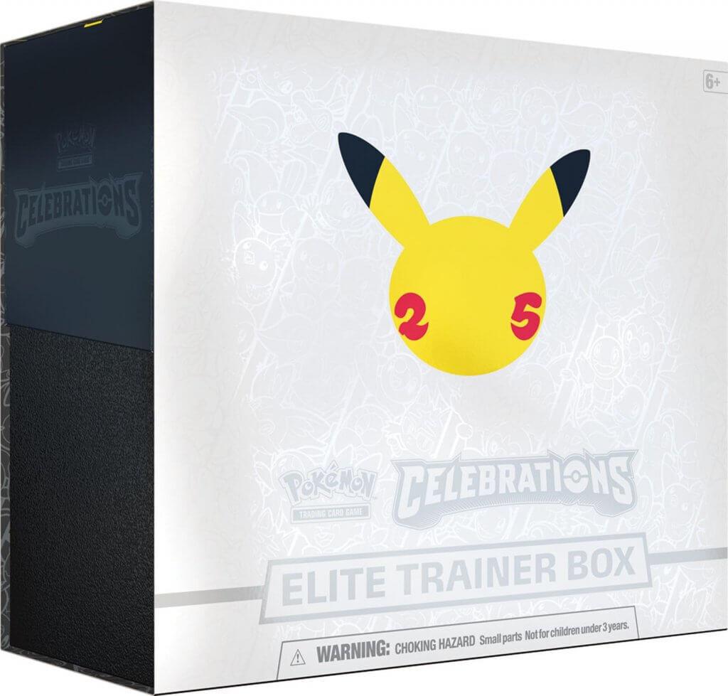 Pre-Order: POKÉMON TCG Elite Trainer Box – Celebrations