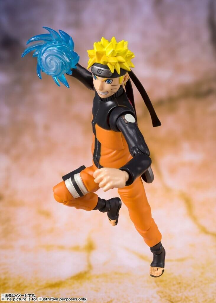 Pre-Order: S.H.FIGUARTS Naruto Shippuden Naruto Uzumaki Best Selection New Package Ver.