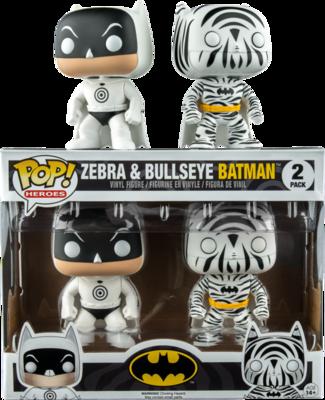 Batman - Bullseye & Zebra Pop! Vinyl Figure 2-Pack