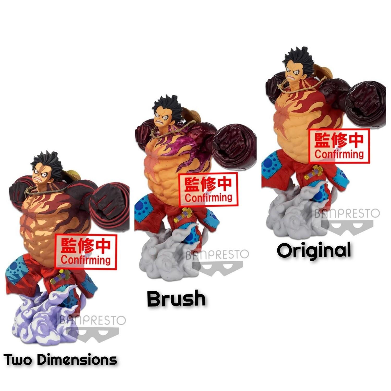 Pre-Order: One Piece World Figure Colosseum 3 Super Master Stars Monkey D. Luffy Gear 4 Figure