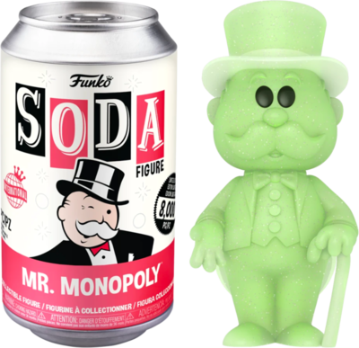 Pre-Order: Monopoly - Mr. Monopoly Vinyl SODA Figure in Collector Can (International Edition)