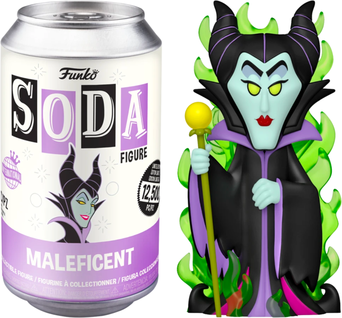 Pre-Order: Sleeping Beauty - Maleficent Vinyl SODA Figure in Collector Can (International Edition)