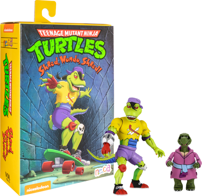 "Teenage Mutant Ninja Turtles (1987) - Mondo Gecko with Kerma Ultimate 7"" Action Figure"