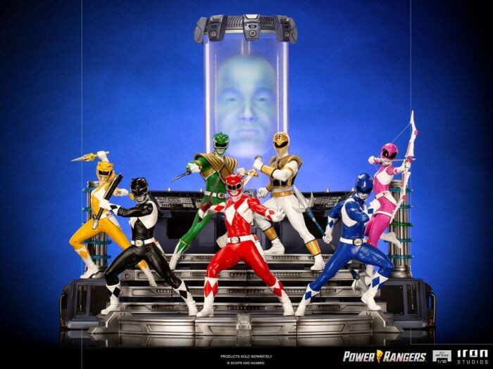 Pre-Order: Mighty Morphin Power Rangers 1/10th Scale Statue