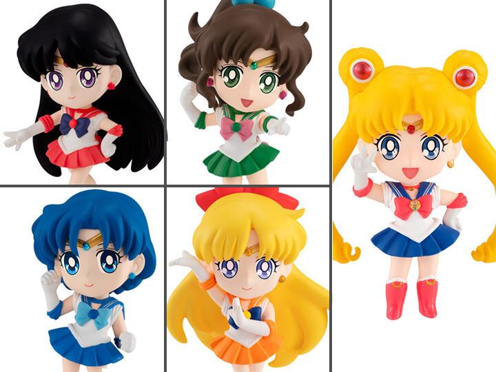 Sailor Moon Chibi Masters Figures