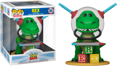 Pre-order- Toy Story - Rex with Controller Deluxe Pop! Vinyl Figure