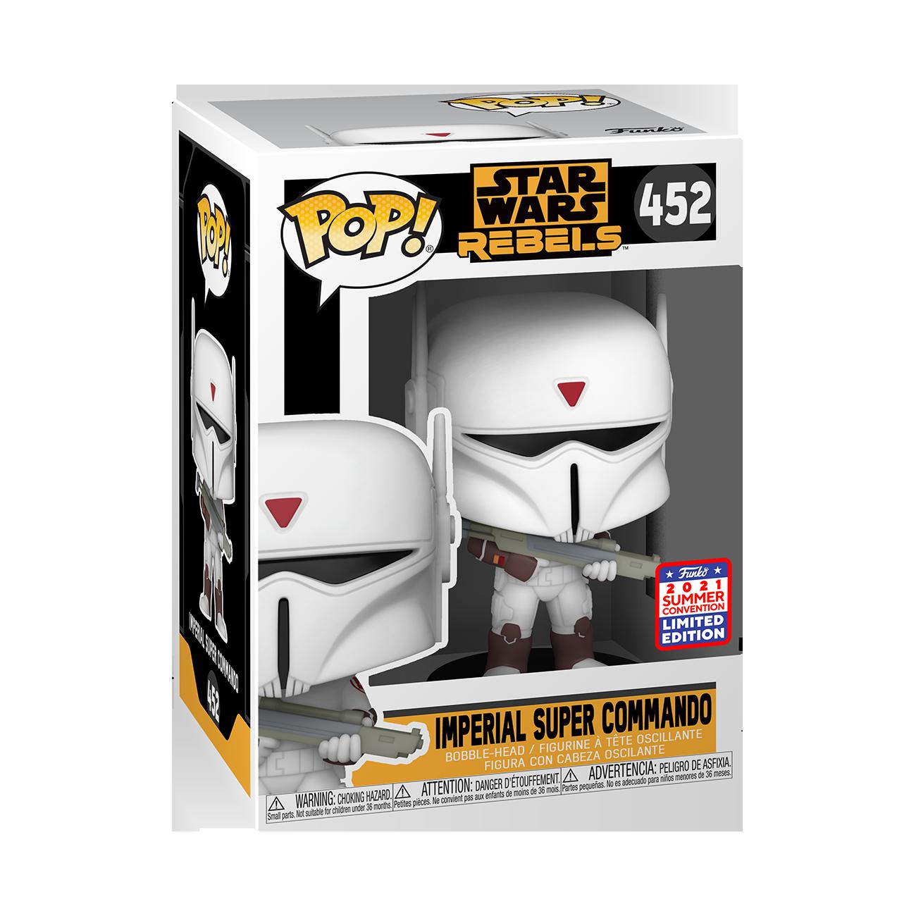 Star Wars: Rebels - Imperial Commando Pop! Vinyl Figure