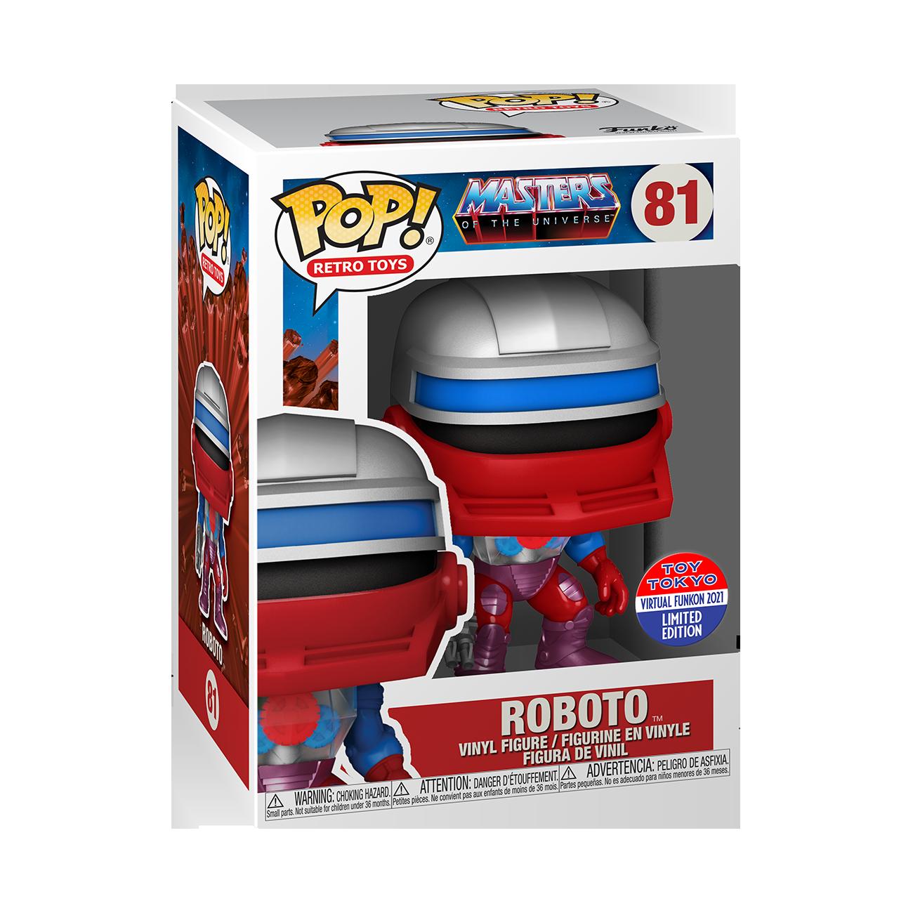 MotU - Roboto Pop! Vinyl Figure