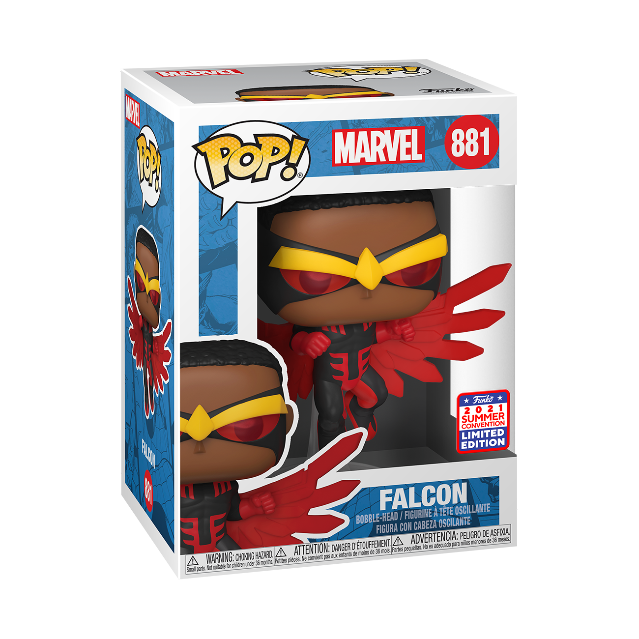 Marvel - Falcon Pop! Vinyl Figure
