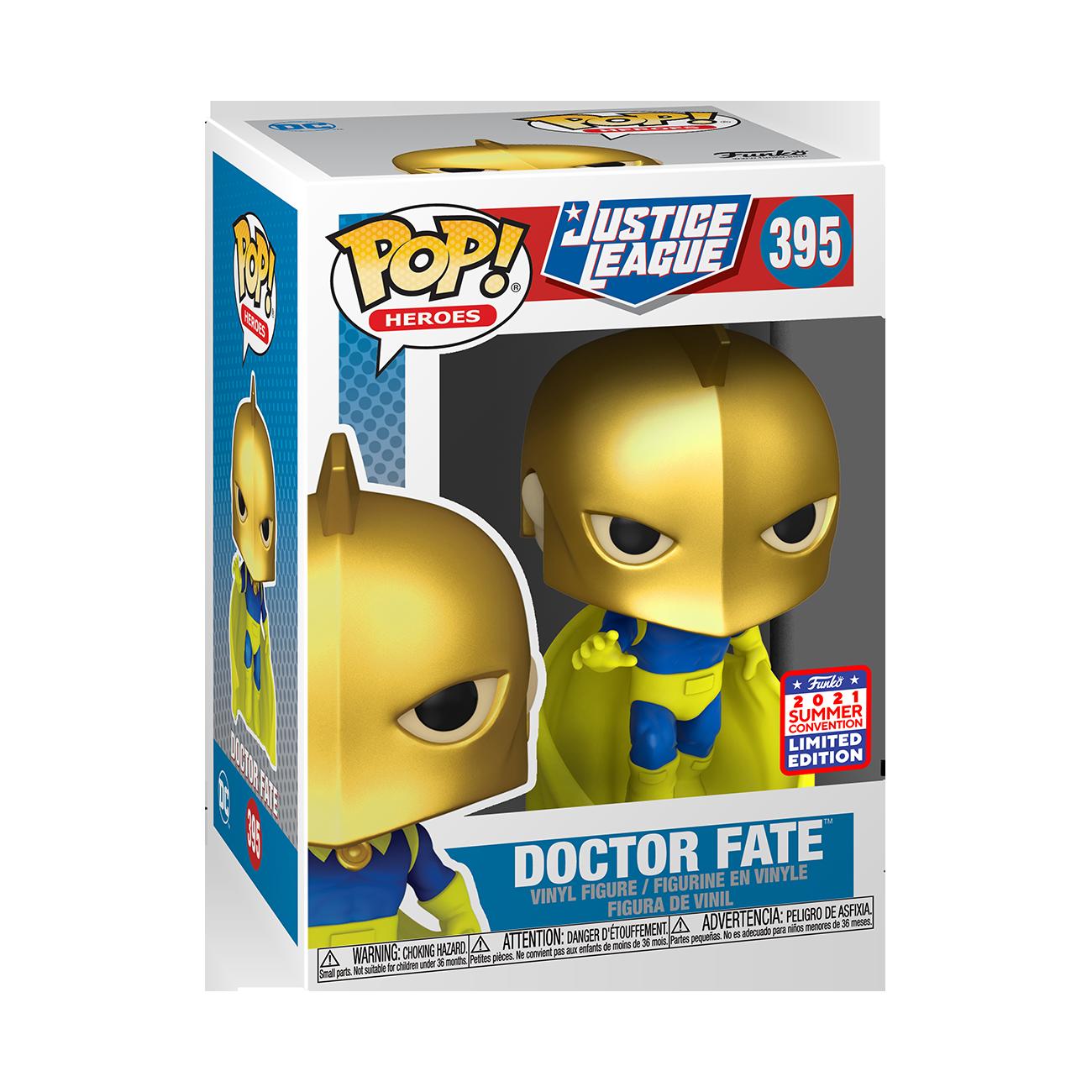 DC Comics - Doctor Fate Pop! Vinyl Figure