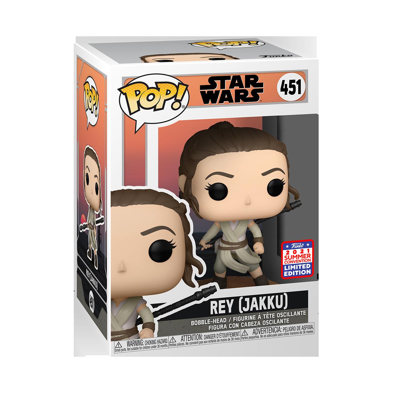 Star Wars: AtG - Rey Jakku Pop! Vinyl Figure