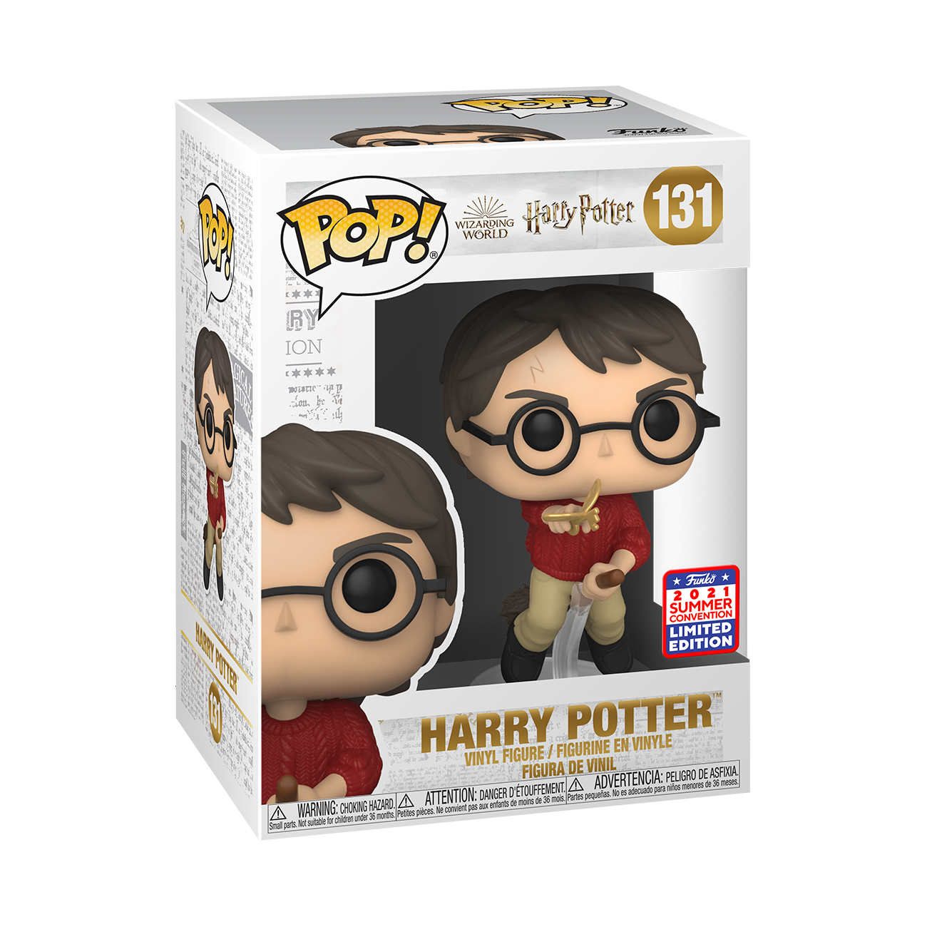Harry Potter- Harry Potter with Wingkey Pop! Vinyl Figure