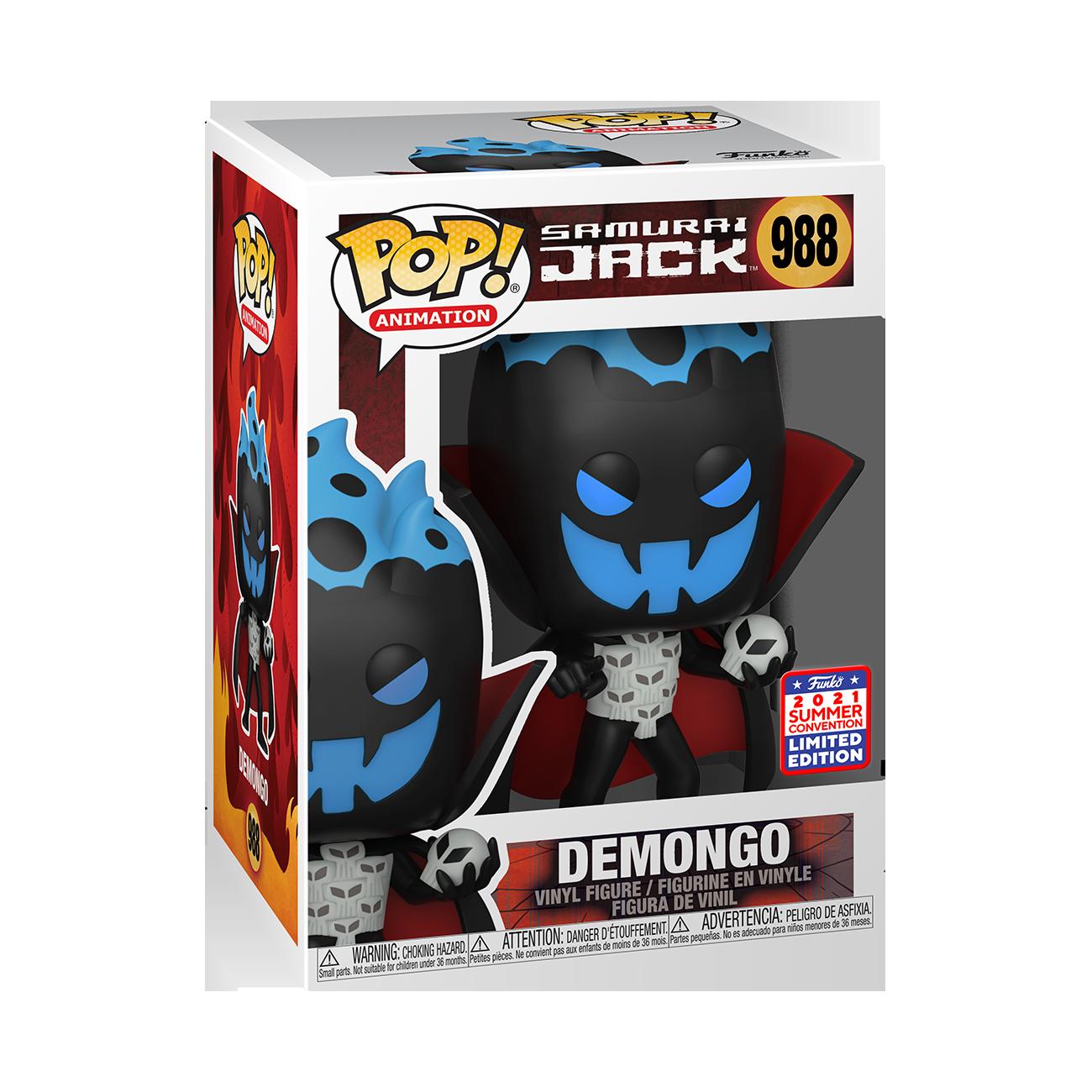 Samurai Jack- Demongo Pop! Vinyl Figure