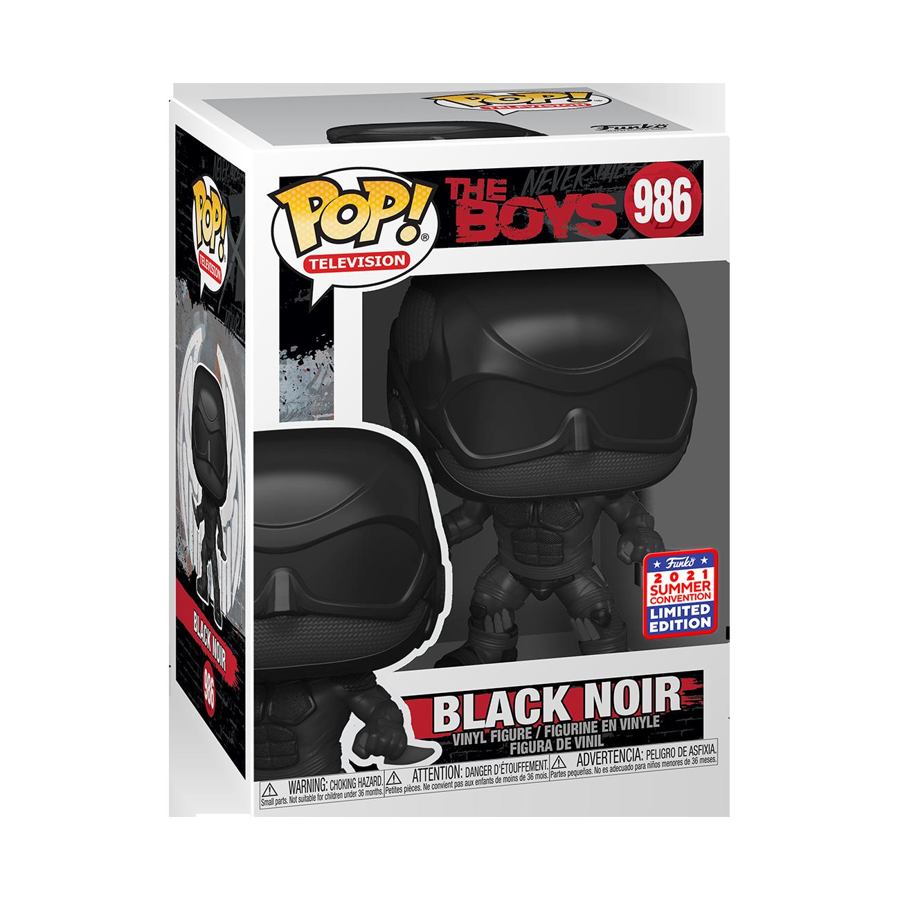 The Boys- Black Noir Pop! Vinyl Figure