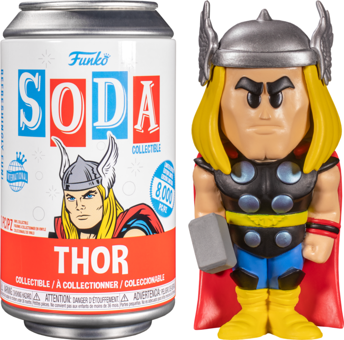 Thor - Thor Vinyl SODA Figure in Collector Can (2021 Summer Convention Exclusive)