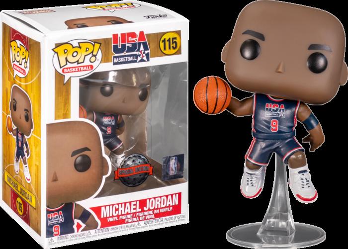 NBA: Legends - Michael Jordan 92 USA Navy Pop! Vinyl Figure