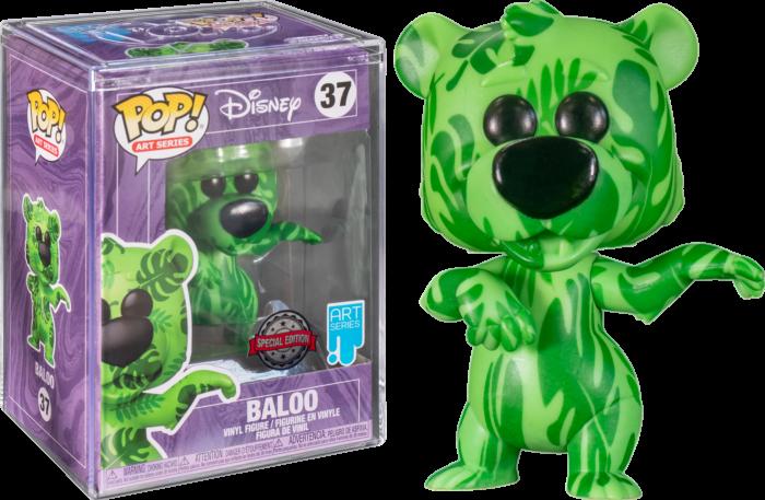 The Jungle Book - Baloo Artist Series Pop! Vinyl Figure with Pop! Protector